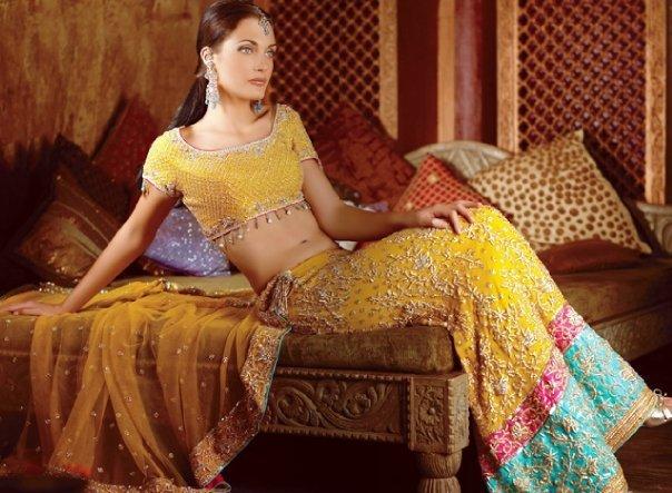 Bridal Mehndi Dresses