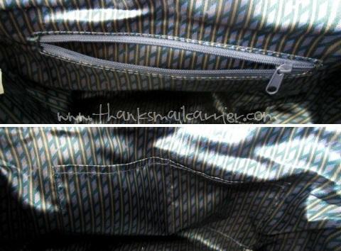 Emilie M purse pockets