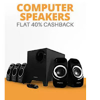 Buy Computer Speakers Extra 30% Cashback Via  PayTm:buytoearn