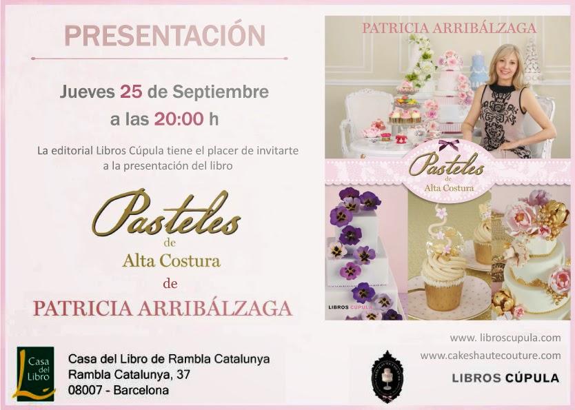 Presentación libro Patricia Arribálzaga