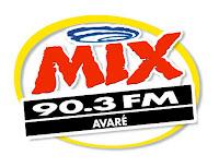 ouvir a Rádio Mix FM 90,3 Avaré SP