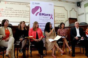 Anuncian Jornada Conmemorativa por el Día Internacional de las Mujeres