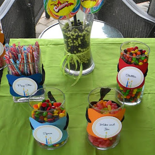 Candy Buffet Jars Containers