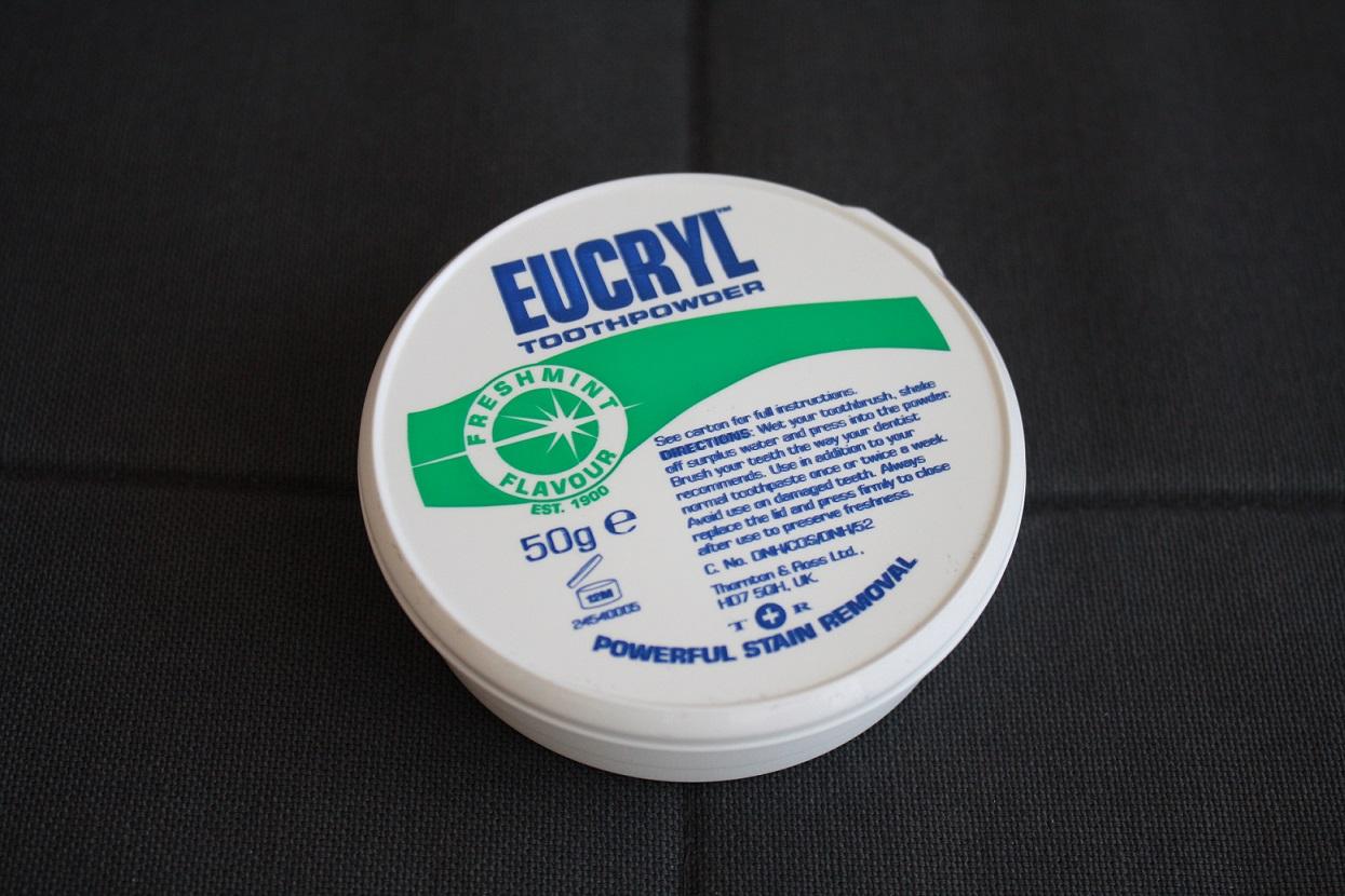 eucryl, toothpowder, puder wybielający do zębów, proszek do zębów, recenzja, blog