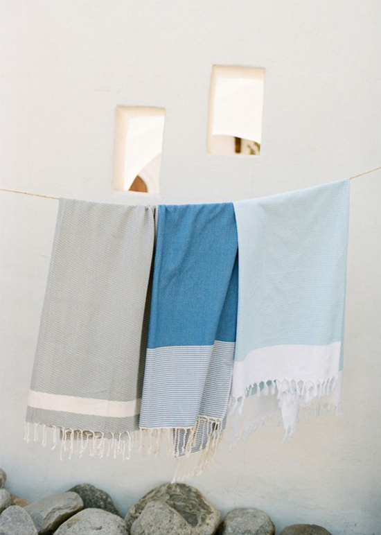 Nine Space bed and bath linens #fouta #towels