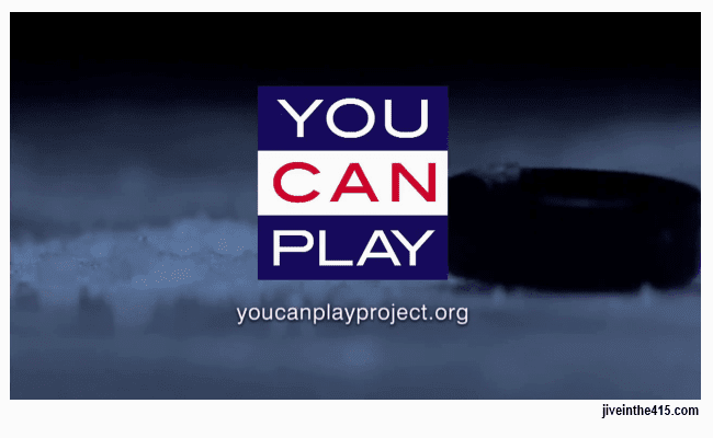 "The ""You Can Play Project"" logo and website url."