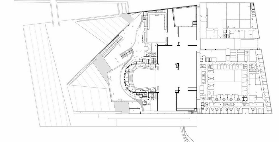 مخططات مشروع دار أوبرا أوسلو بالنرويج  First