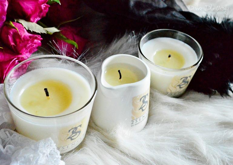 Naturalne świece do masażu 2 Senses  - masaż ciała