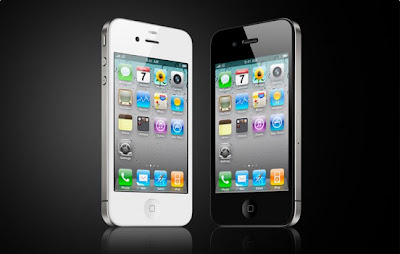 Apple Iphone 4 Black and White Wallpapers