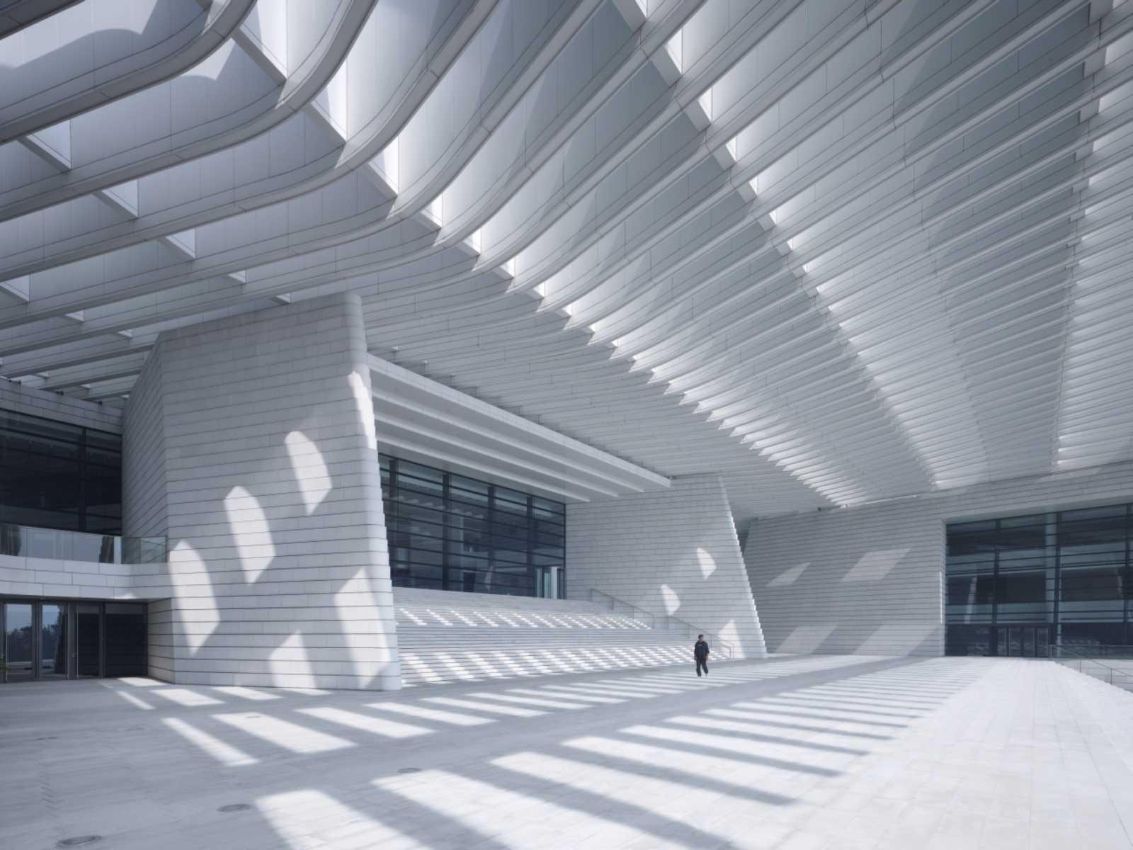 Qingdao grand theater by gmp architekten a as architecture - Gmp architektur ...
