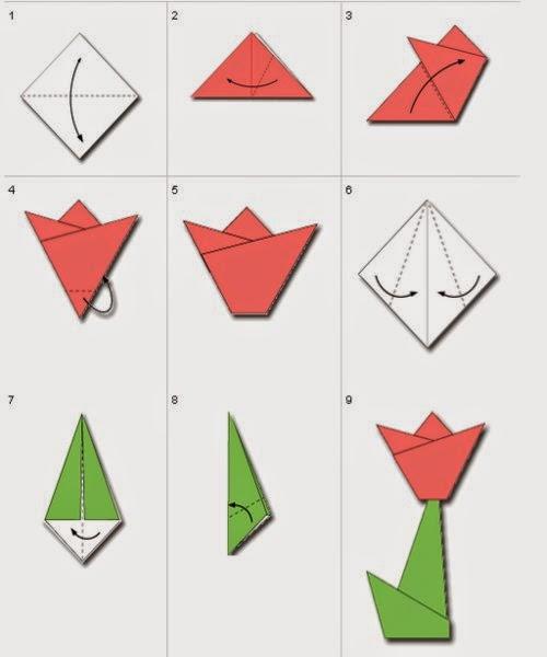 Cara Membuat Origami Bunga Rame Pengunjung