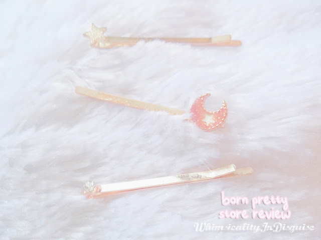 born pretty store Moon Star Design Hair Clips review