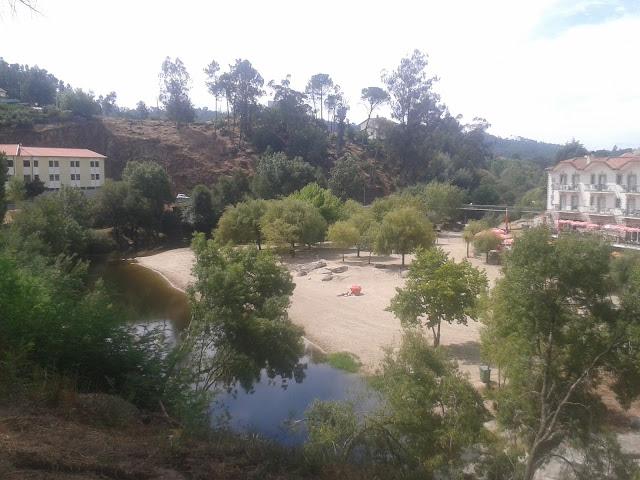 Praia Fluvial de Caldas de Sangemil
