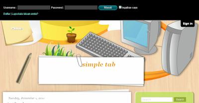 Untuk membina Jquery Sliding login panel di atas header blog, seperti  Cara Menggunakan Ubs Painewebber