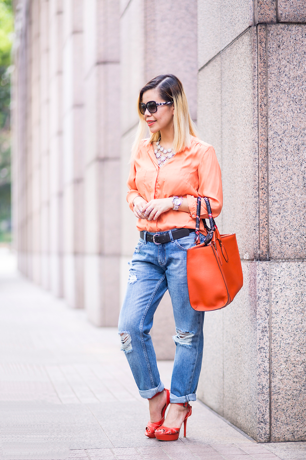 CrystalPhuong- Singapore Fashion Blog- Boyfriend jeans on repeat