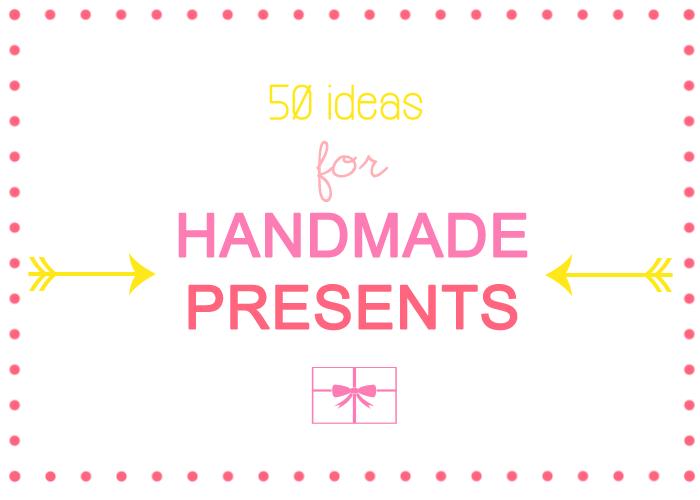 Luloveshandmade: 50 Ideas for Handmade Last Minute (Christmas ...