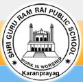Shri Guru Ram Rai Public School – Karanprayag Logo