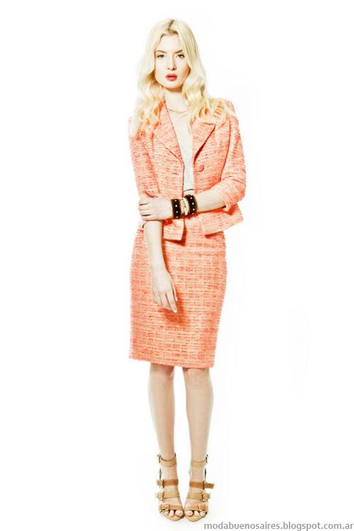 Janet Wise primavera verano 2014. Moda vestidos verano 2014.