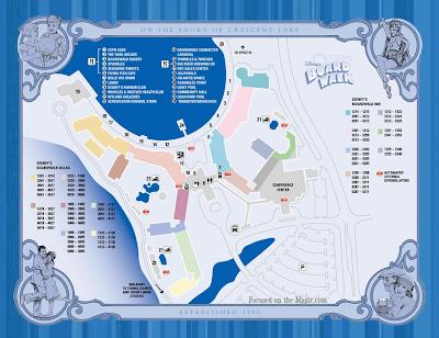 Disney's BoardWalk Map