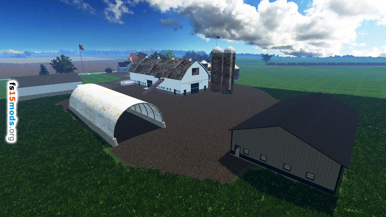Great American Farming Map FS Mods - Fs15 us maps