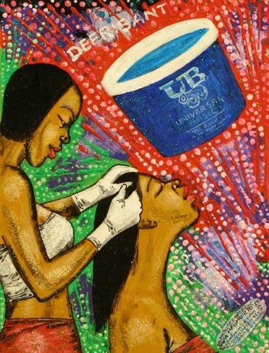 Exposition Beaute Congo Congo Kitoko Fondation Cartier Papa Mfumu Eto 1er