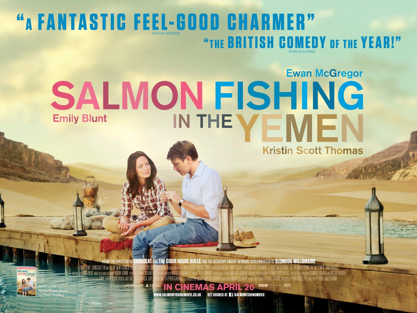 FREE IS MY LIFE: MOVIE REVIEW: Salmon Fishing in the Yemen