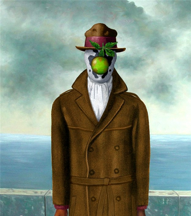 magritte in the media Magritte's pieces are associated with surrealism, which was a period in art where the paintings tried to confuse people by fusing reality with the imagination, forcing the viewer to contemplate the image.