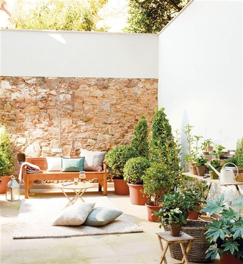 Duas del cias de p tio jeito de casa blog de decora o - Decoracion de patios de casas ...