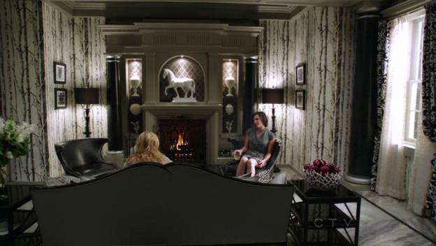 Regina evil queen39s office monaco interiors for Interior decor regina