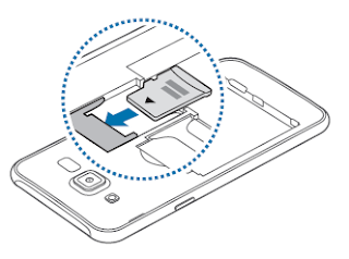 How to Installing a memory card for Samsung Galaxy J5?