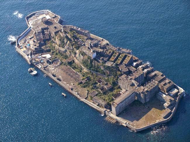 Hashima Island (Gunkanjima), Jepang
