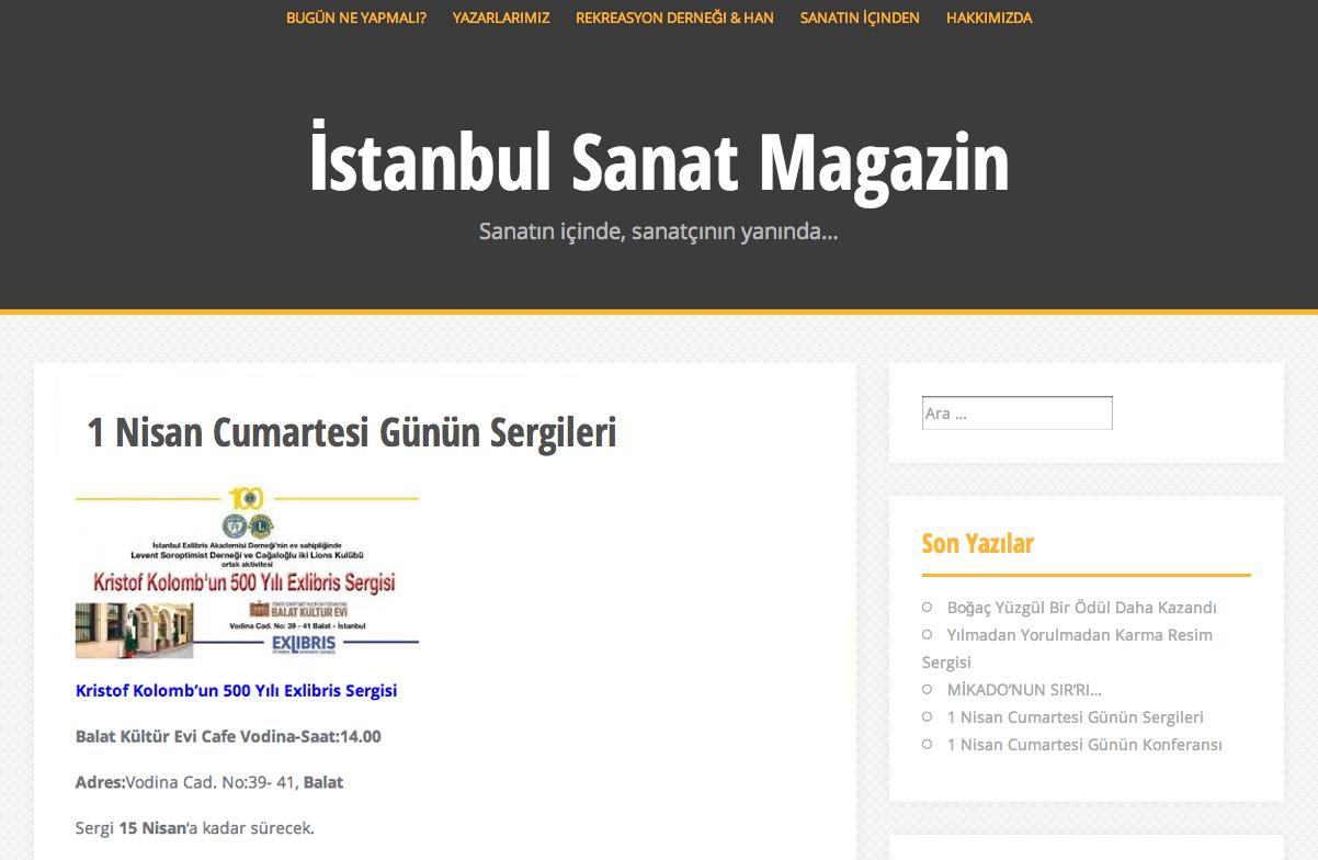 İstanbul Sanat Magazin