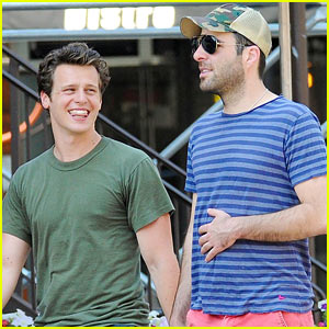 Stray Sheep: Zachary Quinto: West Village Walk with ...