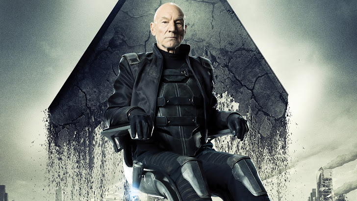 patrick stewart as professor x / charles xavier in x men days of future past