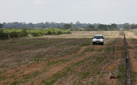 In this 2009 photo, researchers drive on the Fazenda Gramada government farm in Nova Canaa do Norte, Mato Grosso state, Brazil. Mato Grosso has made critical efforts to combat deforestation. (Credit: AP Photo/Andre Penner) Click to Enlarge.