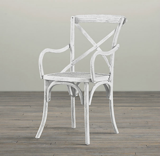 Recent home decor purchases design improvised for Restoration hardware metal chair