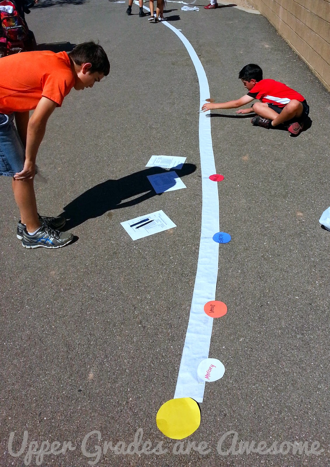 solar system distance activity - photo #31