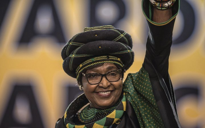 Winnie Mandela, South African anti-apartheid campaigner, dies at 81