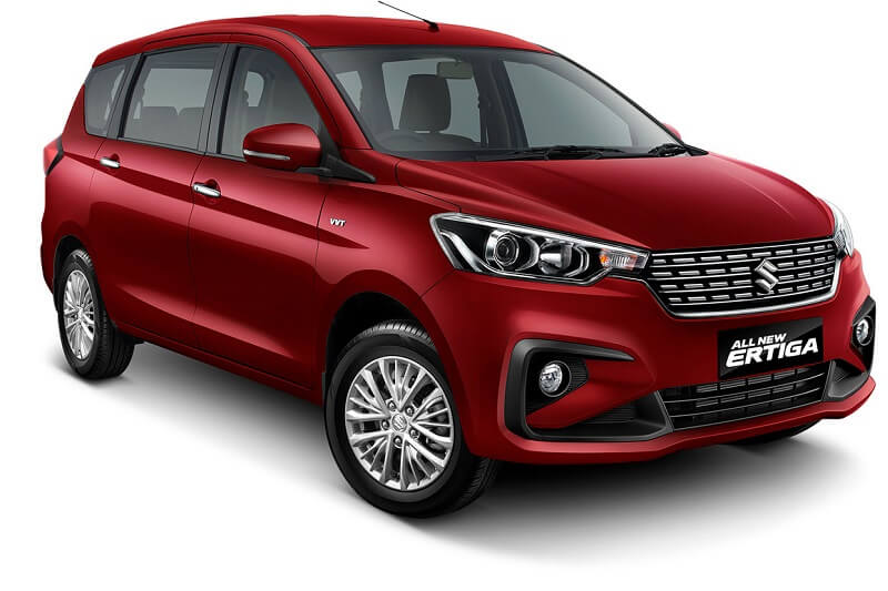 All New Maruti Suzuki Ertiga Facelift Version