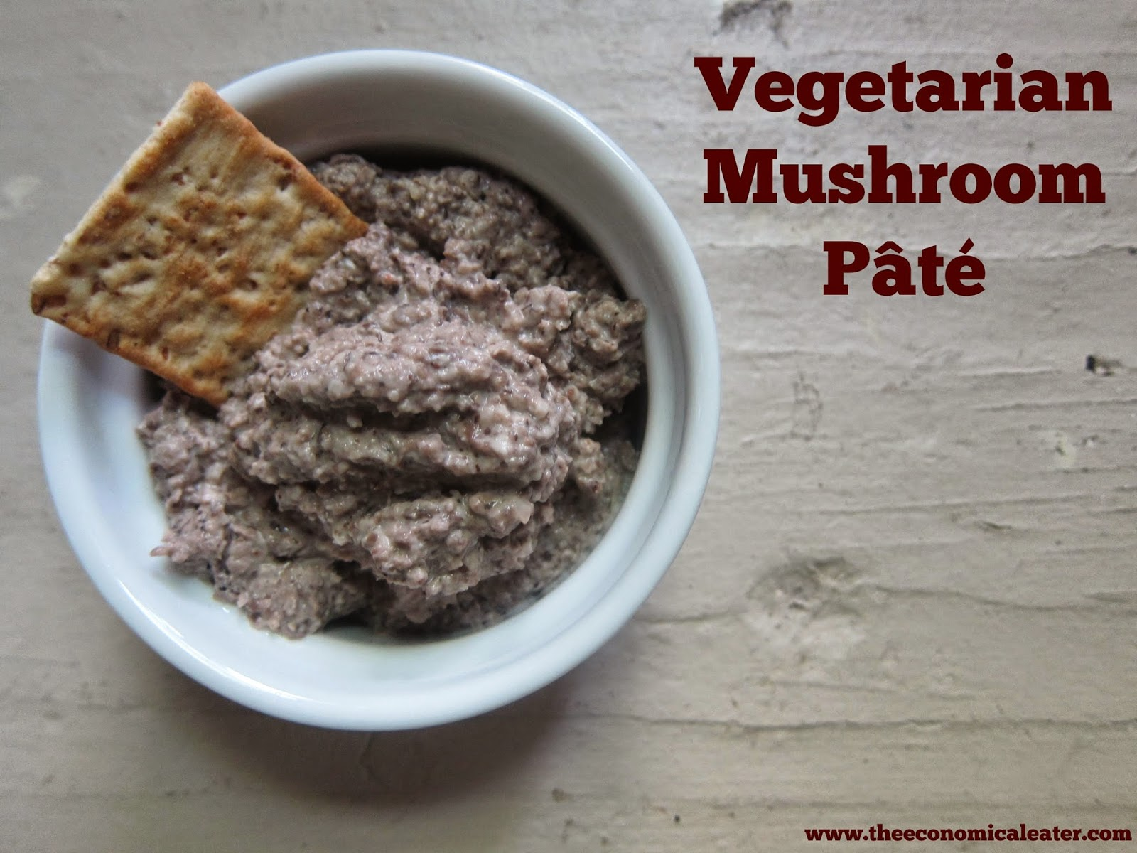 Mushroom Pâté | The Economical Eater