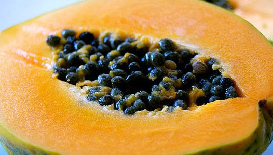 Papaya face pack for glowing skin