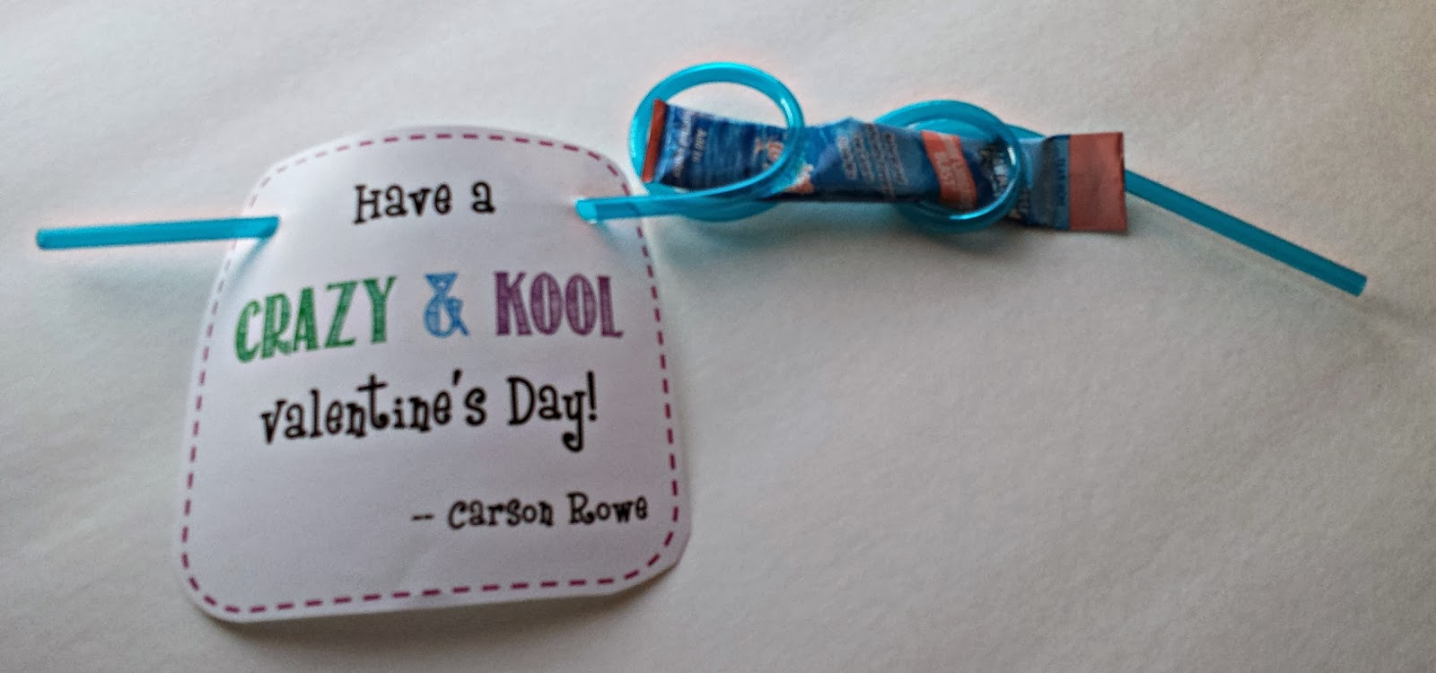 Crazy & Kool Valentine's with Free Printable
