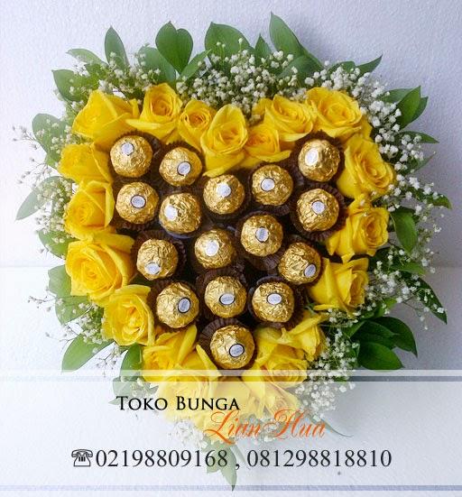 kado bunga ulang tahun untuk pacar, toko bunga mawar kuning