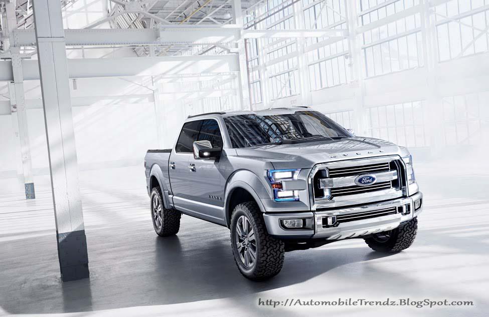 Automobile Trendz: Ford Atlas Concept Truck Ford Concept Trucks Atlas