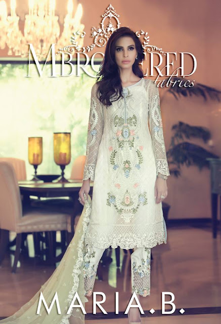 Maria B Mbroidered Collection 2015 For Eid With Prices