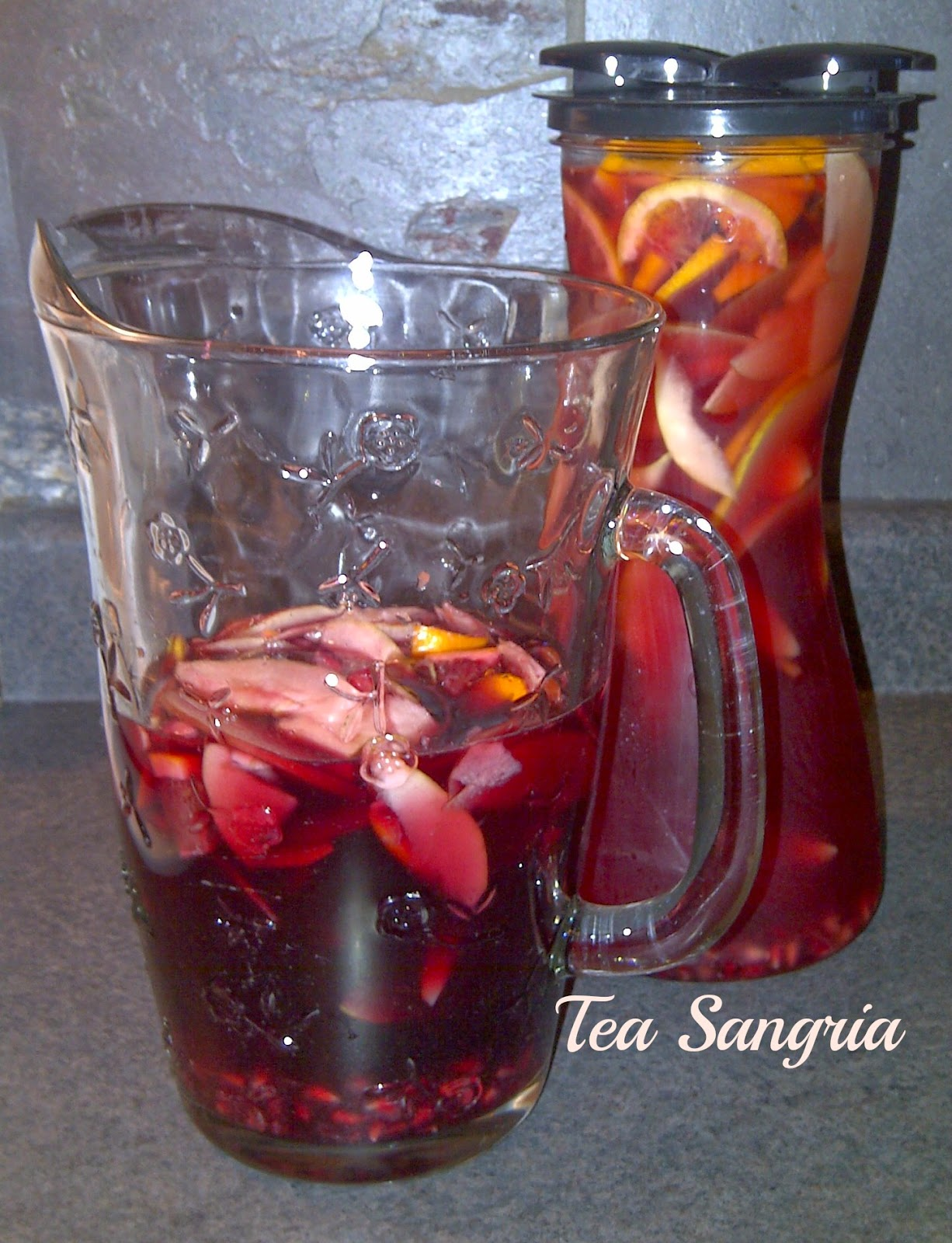 Take ice tea to the next level:  Try a Tea Sangria......