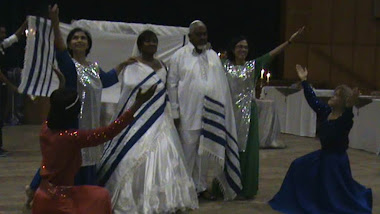 Aaronic blessing was sung on audio cd by Jonathan Settle while the dancers interpreted the words