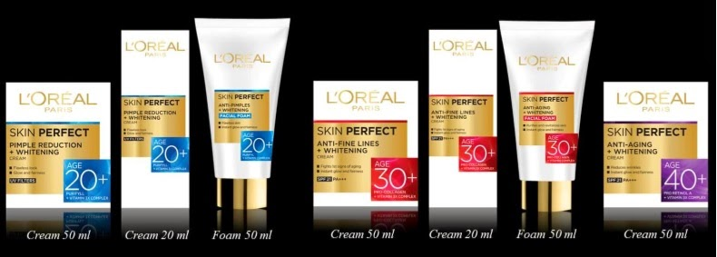 Loreal Paris Skin Perfect Range:
