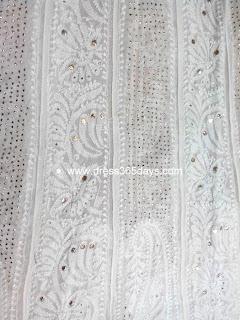 Yoke Style Anarkali in Paisley pattern