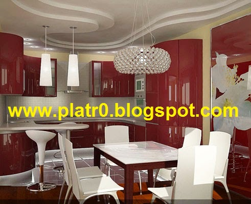 D coration cuisine platre for Decoration platre cuisine